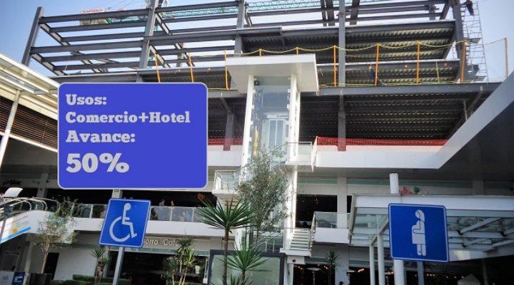 Arribará hotel a paseo comercial en Garza Sada