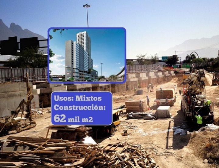 Alistan cimentación de proyecto vertical de 62 mil m2