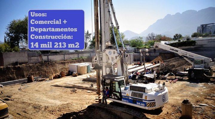 Levantarán desarrollo de usos mixtos de 14 mil m2