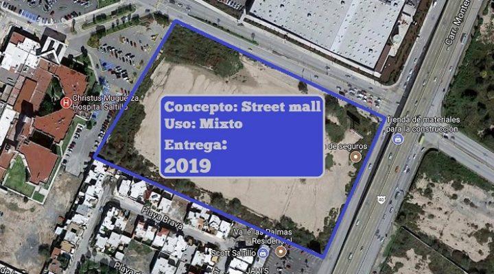 Anuncian construcción de complejo mixto en Saltillo