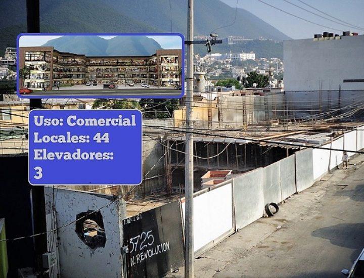 Emerge desarrollo comercial al sur de Monterrey