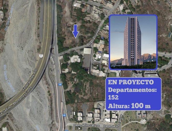 Construirán torre de 100 metros de altura en La Huasteca