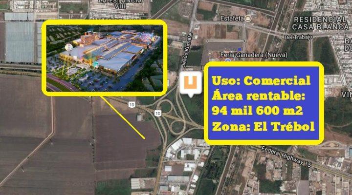 Dan banderazo de inicio a centro comercial en Culiacán