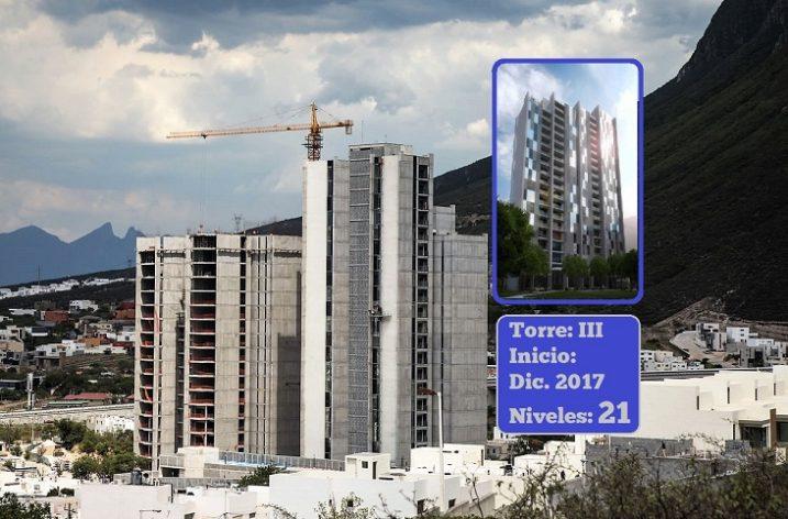 Alistan nueva torre habitacional en La Huasteca