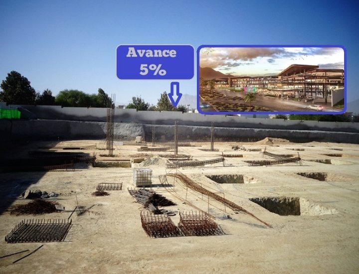 Arranca cimentación de 'street mall' en Puerta de Hierro