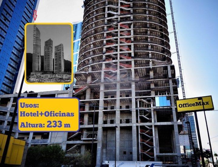 Avanza rascacielos regio un piso por semana