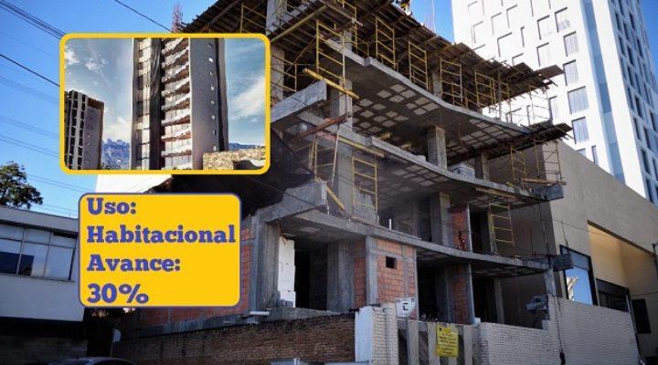Crece torre habitacional de lujo en San Jerónimo