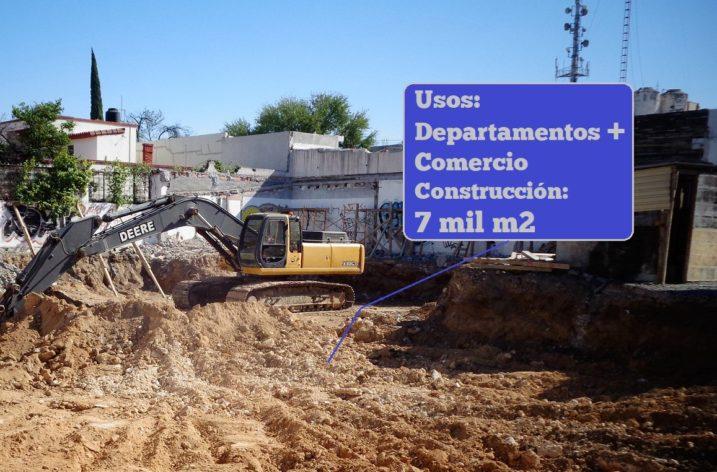 Construirán desarrollo vertical multiusos de 7 mil m2