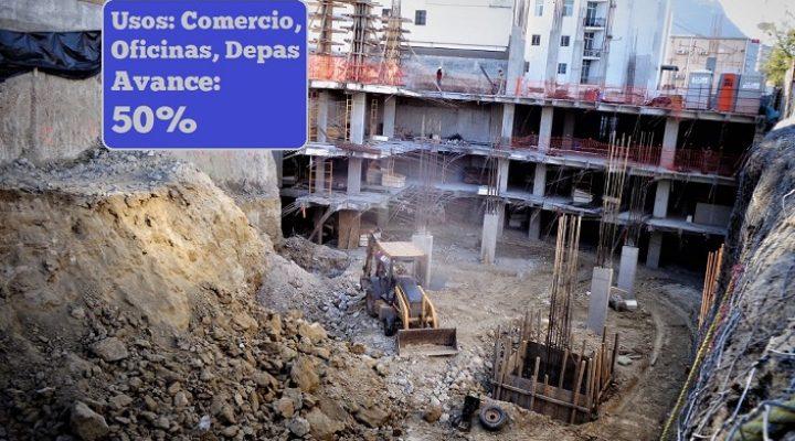 Desarrollan fase subterránea de complejo de 14 mil m2