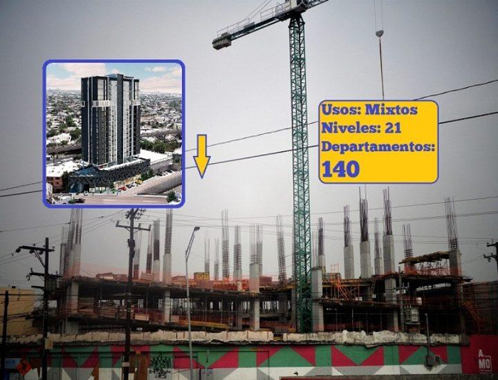 Emerge torre de uso múltiple de 21 niveles