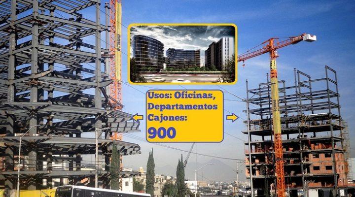 Ejecutan obra civil de complejo mixto en Loma Larga