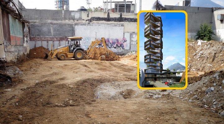Activan construcción de torre vanguardista en SP