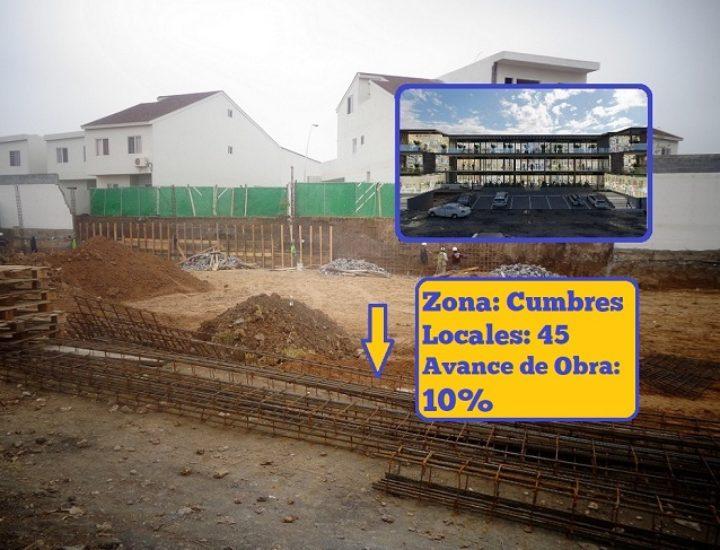 Inicia construcción de proyecto comercial de 7 mil m2