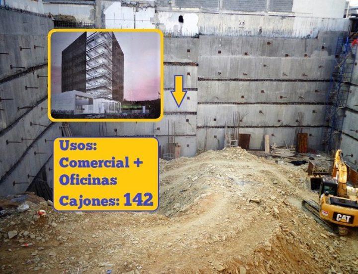 Alistan cimentación de corporativo en Obispado