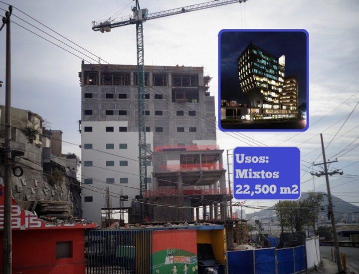 Levantan segunda torre de complejo en San Jerónimo