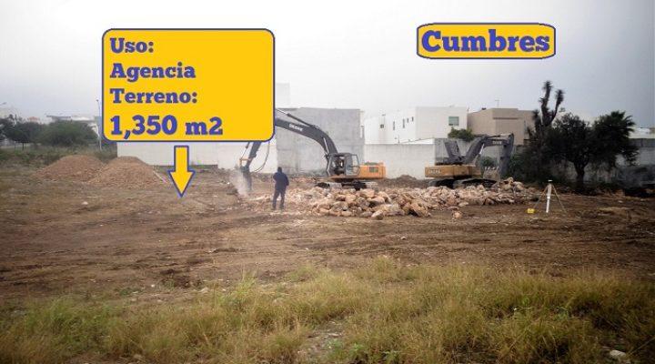 Alistan construcción de agencia en Cumbres
