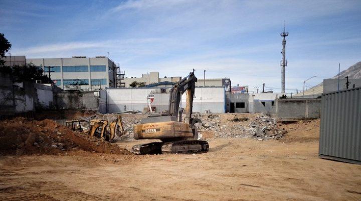 Inicia actividad para edificar complejo de 16 mil m2