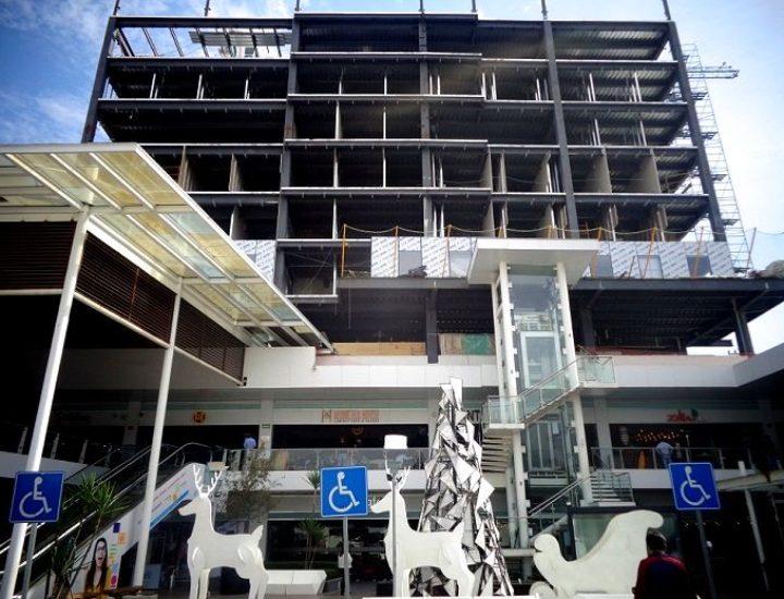 Avanza construcción de hotel en Distrito Tec
