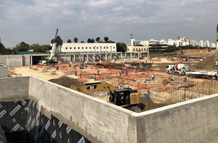 Avanza construcción de estadio en Distrito Tec