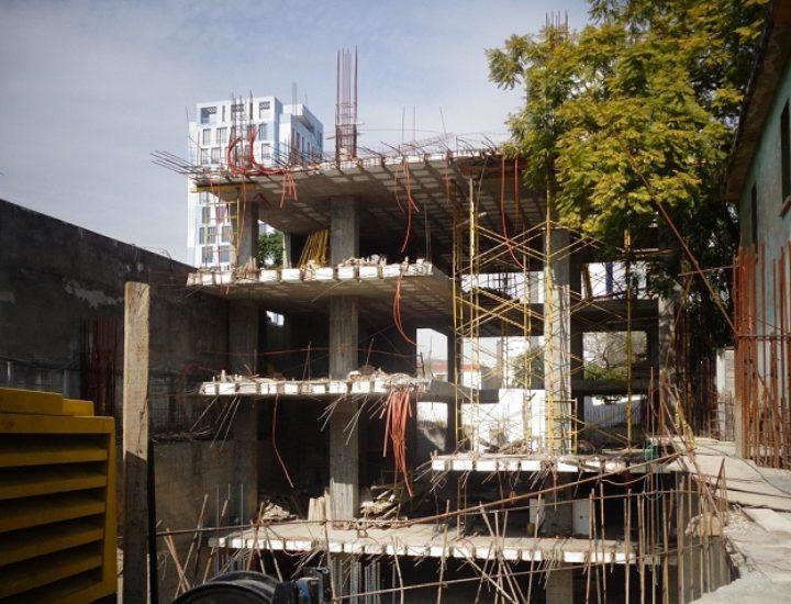 Crece estructura de uso múltiple en Av. San Jerónimo