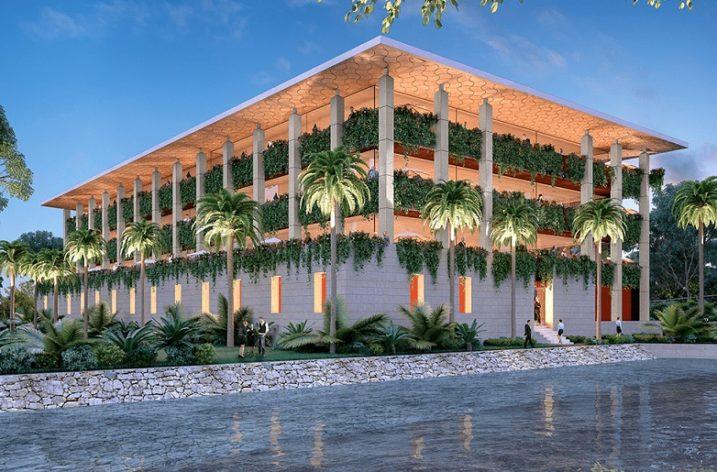 Levantarán regios oficinas con vista al mar en Cancún