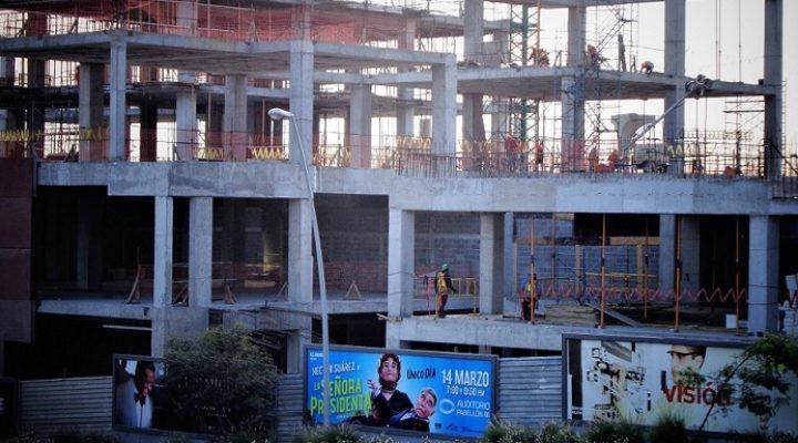 Avanza estructura de pabellón en San Pedro