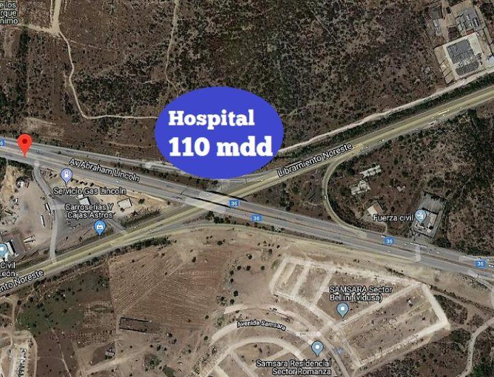 Tramitan 'megahospital' de 110 mdd en AMM