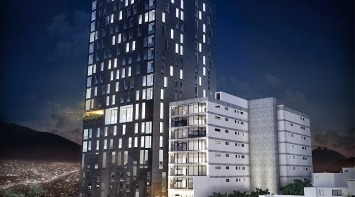Alcanza nivel de piso torre de 22 niveles en SC