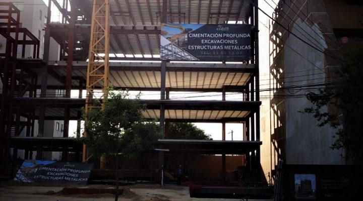 Finaliza estructura de torre mixta en San Pedro