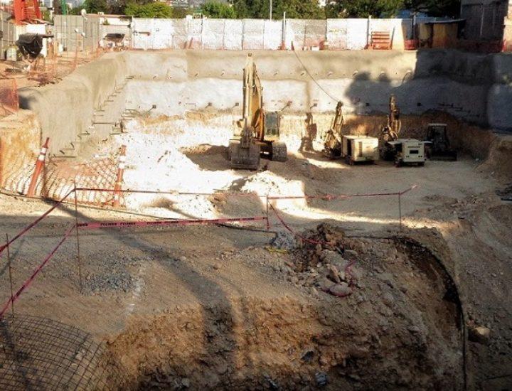 Avanza excavación de proyecto vertical de 16 mil m2