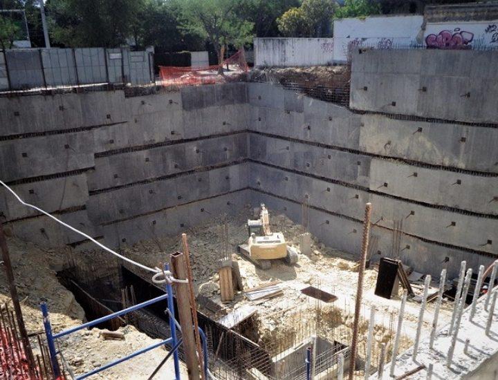 Inicia cimentación de edificio multiusos en Obispado