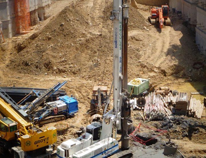 Arranca cimentación de torre mixta de 28 niveles
