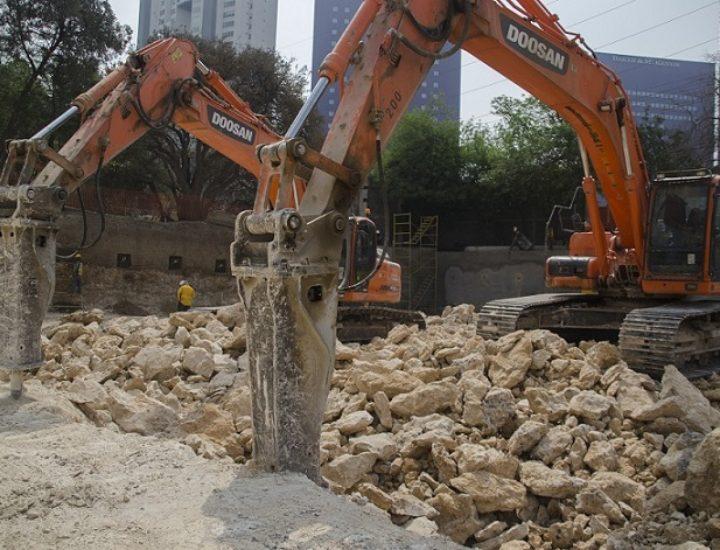 Inicia excavación de torre mixta de 42 niveles