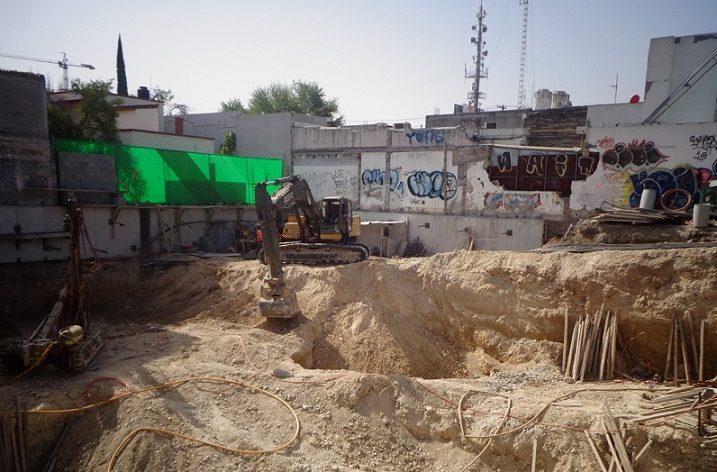 Inicia excavación de proyecto multinivel de 7 mil m2