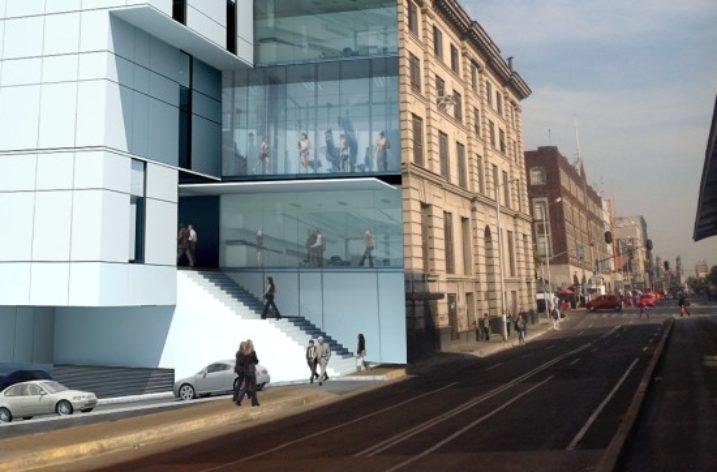 De inmueble histórico a 'street mall' en Ciudad de México