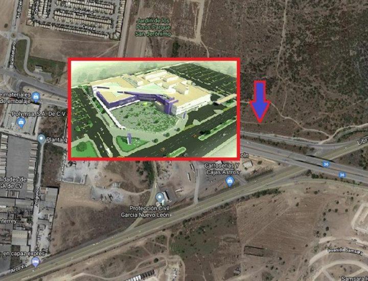 Participará gerencia regia en construcción de hospital de $106 mdd