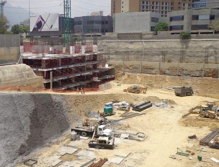 Arranca fase de sótanos de torre mixta en San Pedro