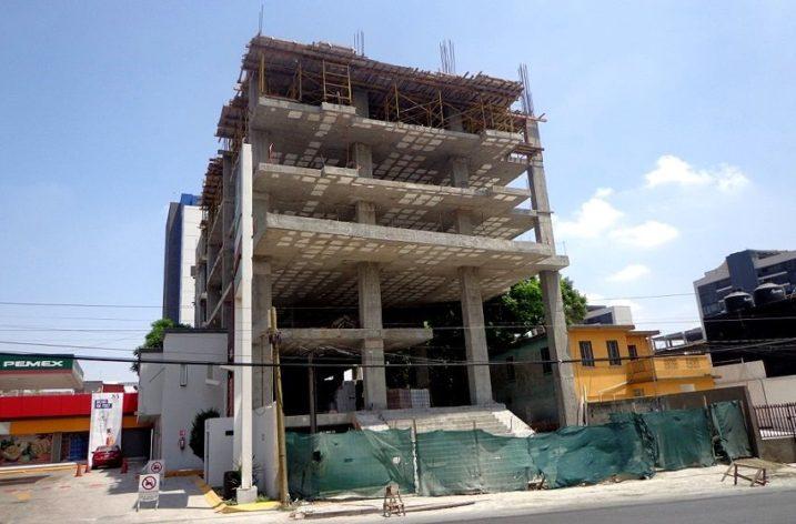 Alcanza 50% estructura de torre de uso mixto en MTY