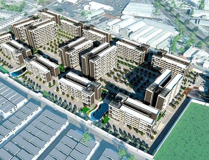 Avanza construcción de desarrollo de vivienda en San Nicolás