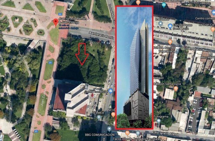 Activarán rascacielos junto a la Macroplaza; tendría 57 pisos