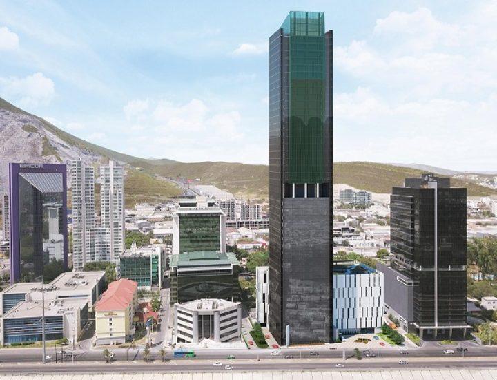Levantan últimos niveles de torre en SM; restan seis plantas