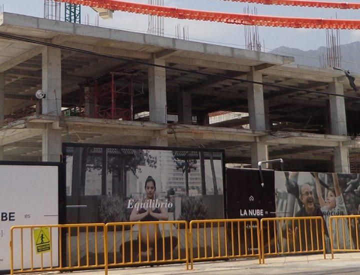 Levantan primeros niveles de hotel de lujo en Arboleda