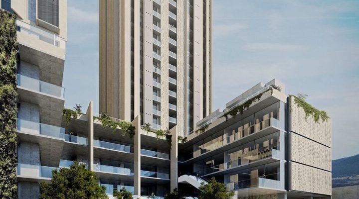 Proyectan complejo mixto de 2 torres en la Col. Buenos Aires
