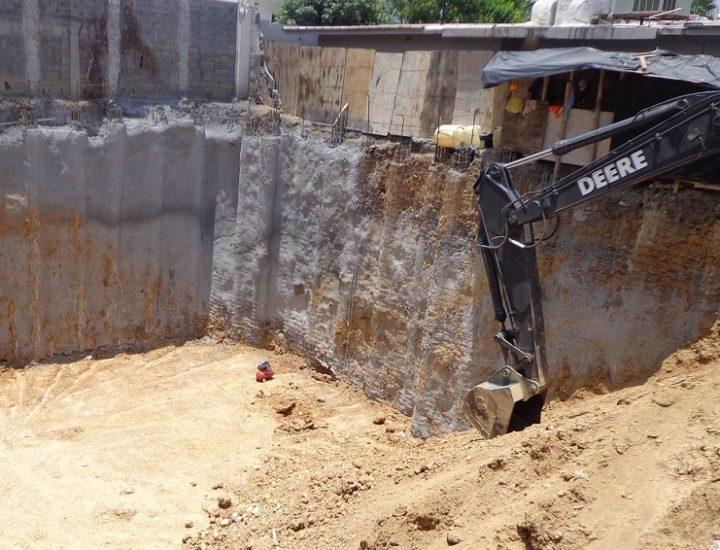 Llega a fase de taludes proyecto mixto en San Pedro