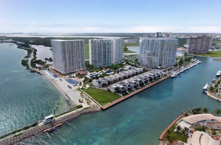 Proyecta firma regia desarrollo de lujo en Cancún