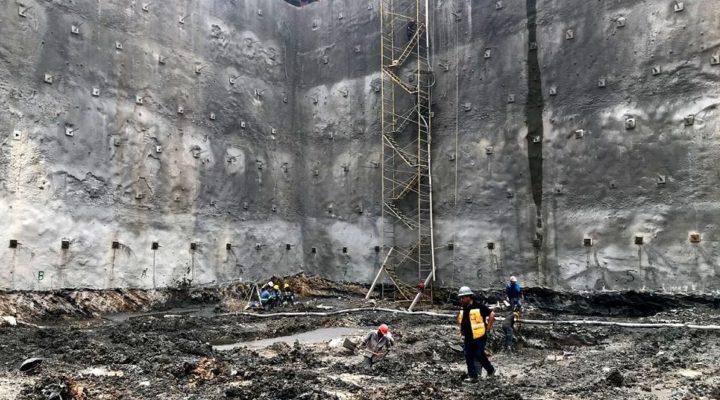 Alistan arranque de cimentación de torre mixta de 42 niveles
