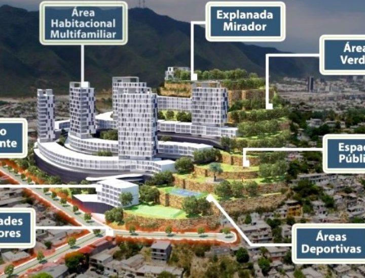 Tramitan complejo habitacional de 14 torres en MTY