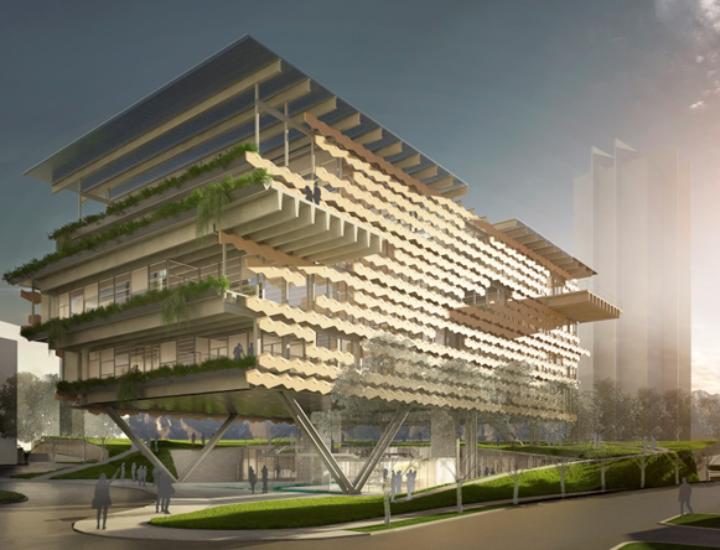 Preparan inicio de proyecto 'megasustentable' de 18 mil m2