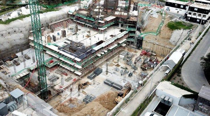 Alcanza nivel de piso torre de lujo de 80 mil m2 en SP