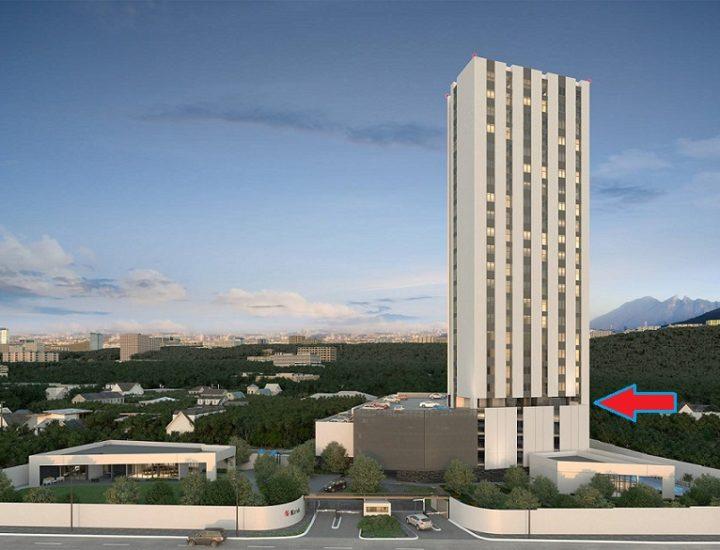 Alcanza nivel 4 estructura de torre de 'depas' en Santa Catarina
